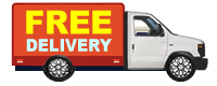 Free Delivery - Free delivery with purchase of $700 or more or $45 Fee if less than $700
